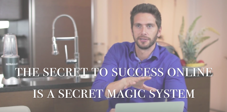 What is the secret to a successful online business?