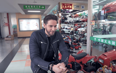 Behind the scenes look at Product sourcing in China